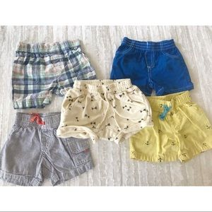 Baby Boy Shorts Bundle